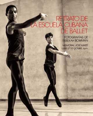 Binomio entre instantáneas del ballet cubano