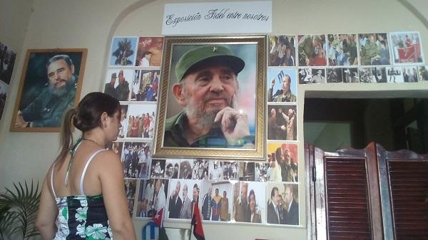 Muestras fotográficas de Fidel Castro se exhiben en Ciego de Ávila