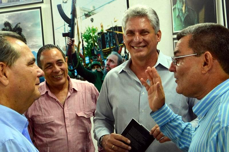 Asiste D�az-Canel a inauguraci�n de Exposici�n Fotogr�fica dedicada a Fidel (+Audio)