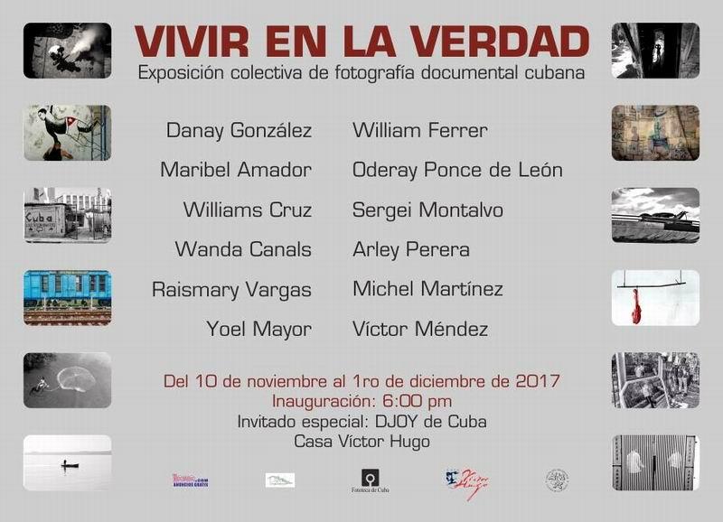 Anuncian exposición colectiva de fotografía cubana Vivir en la Verdad