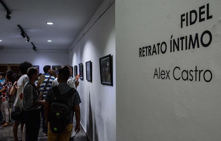 Fidel: Retrato íntimo, una propuesta de la Casa del ALBA Cultural (+Fotos)