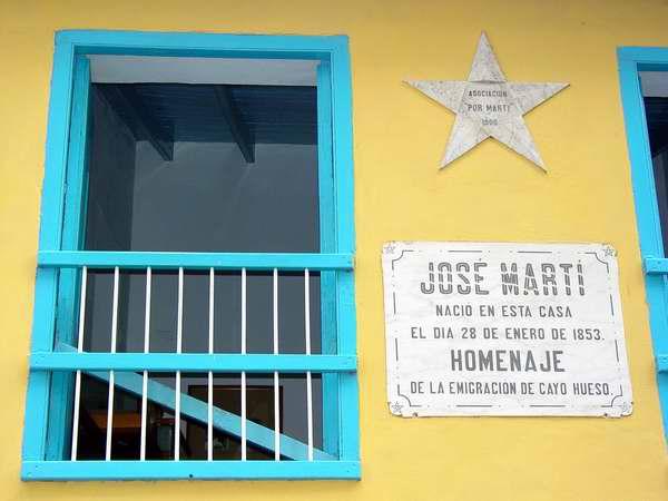 Fachada de la Casa Natal de José Martí. Foto Martianos