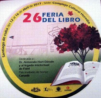 Deja huellas Feria Internacional del libro en Santiago de Cuba