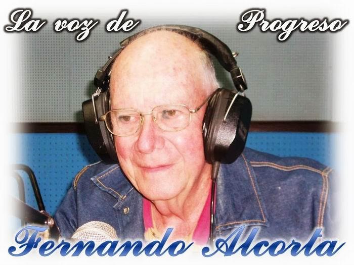 Fernando Alcorta, prestigioso locutor