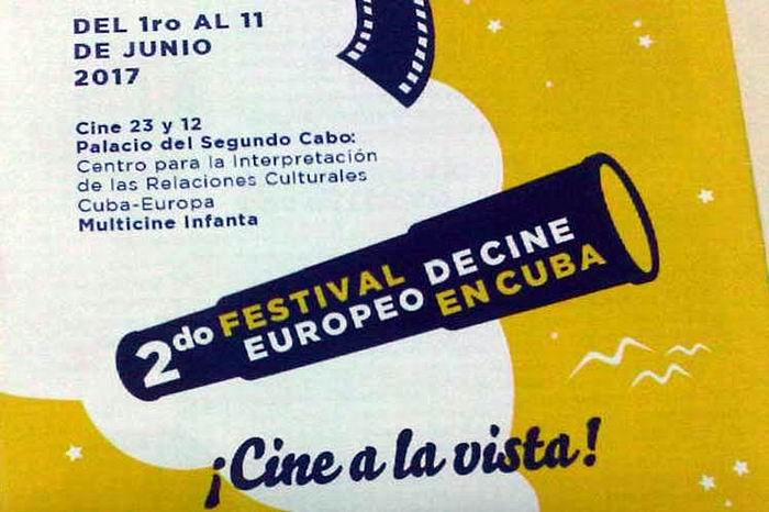Anuncian segundo Festival de Cine Europeo en Cuba