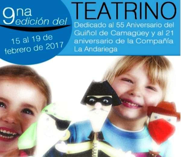 En Camagüey, teatro para niños y con niños