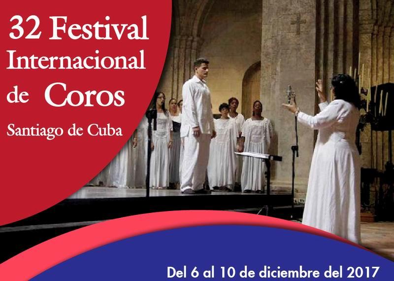 Anuncian Festival Internacional de Coros de Santiago de Cuba