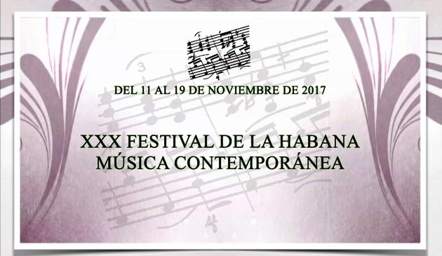 En Cuba trigésima edición del Festival de Música Contemporánea