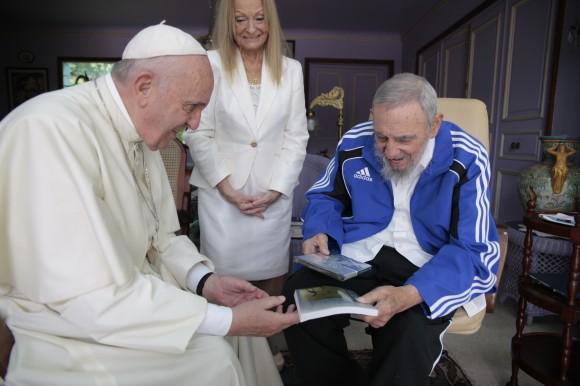 Estrenarán en La Habana documental sobre el Papa Francisco y Fidel