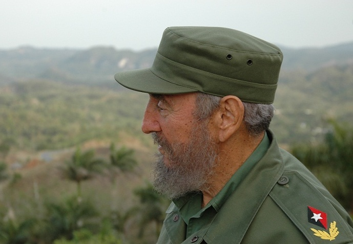 Fidel jamás será mármol, ni consigna