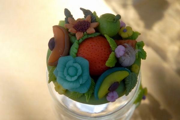 Porcelana fría, frascos renacidos (+Fotos)