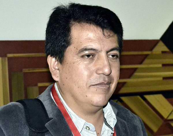eddy Cañizares, director de una extensión de la Universidad Regional Autónoma de los Andes