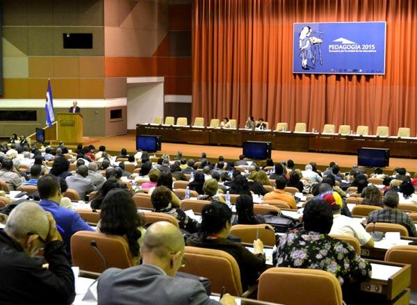 Congreso Internacional Pedagogía 2015. Foto Abel Rojas Barallobre
