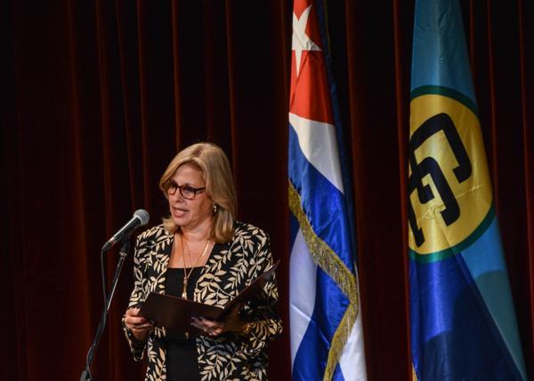 Intervención de Ana Teresita González Fraga, viceministra de Relaciones Exteriores