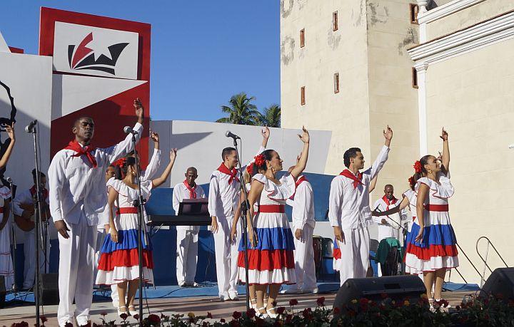 Resalta Díaz-Canel significación histórica de la primera interpretación del Himno de Bayamo