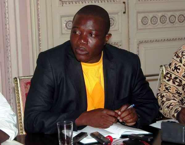 El representante de la Asociación de Cadetes y Precadetes de Angola (ASOPRECA), Gervasio Cassoma Pinto. Foto Abel Rojas