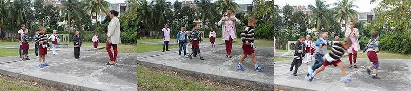 Un círculo infantil donde enseñan los sonidos de la vida