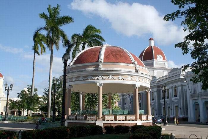 Glorieta del Parque José Martí. Foto: Mireya Ojeda