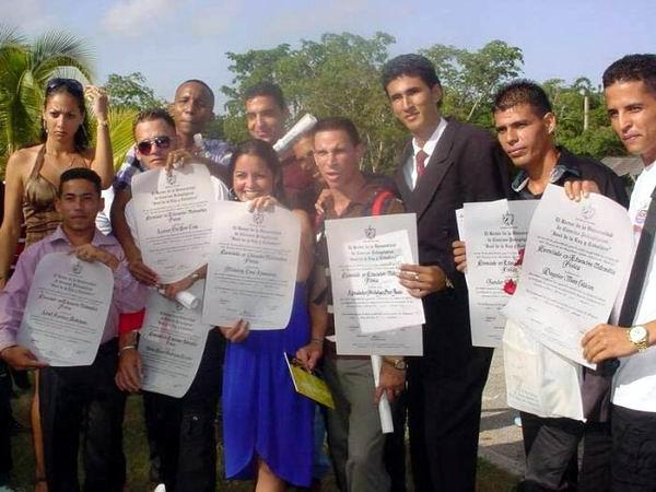 Graduación Pedagógica 2014. Foto: Aroldo García Fombellida