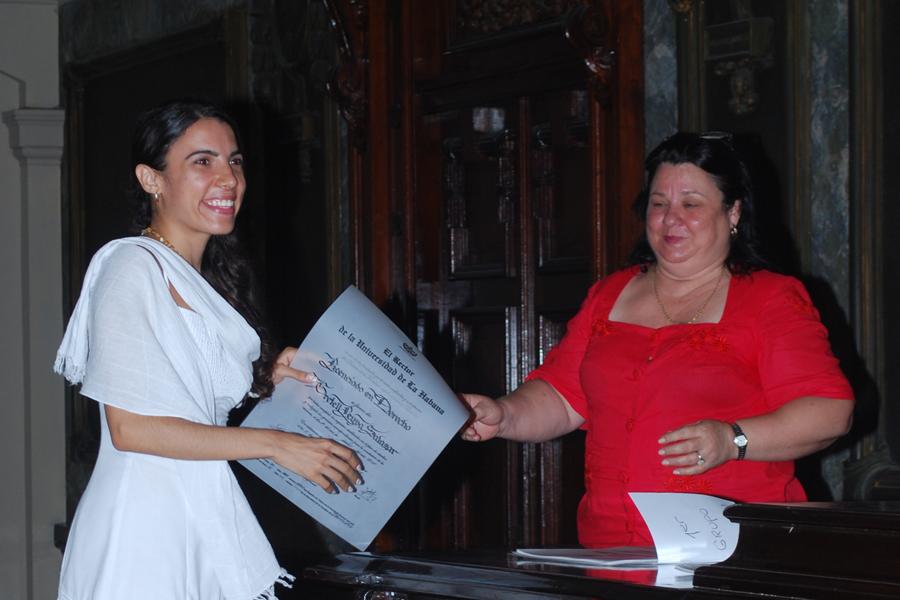 Gradúa Universidad avileña nuevos profesionales. Foto: Faustino Alvarez