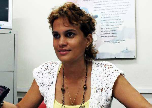Msc. Gretel Moya Trobajo, Metodóloga de la dirección de Secundaria Básica del Ministerio de Educación. Foto Abel Rojas