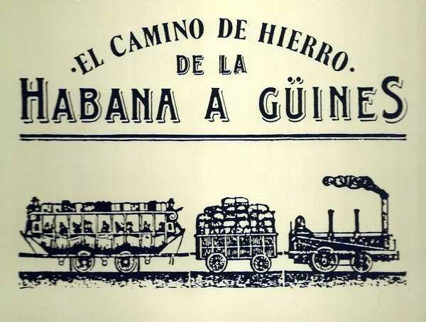 Servicio de ferrocarril de La Habana hasta Guines