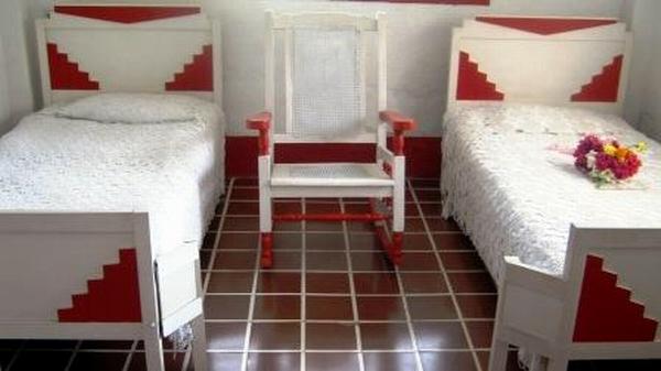 En perfecto estado de conservación habitación utilizada por las combatientes Melba Hernández y Haydeé Santamaría. Foto: Carlos Sanabia