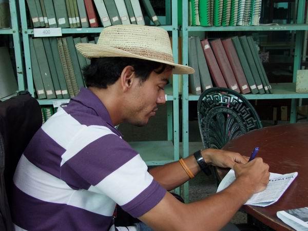 Héctor Luis escribe cuentos, novelas y poesía para niños. Foto: Nelson Ricardo