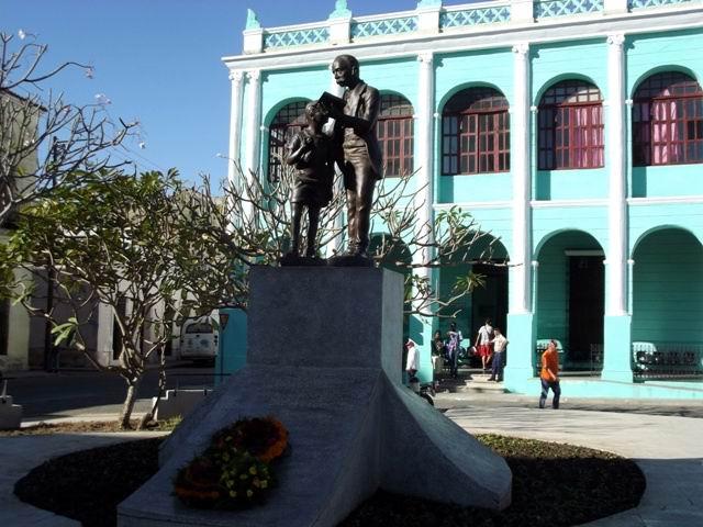 Con el homenaje a Martí comenzó el programa de balance de la SCJM. Foto: Miozotis Fabelo