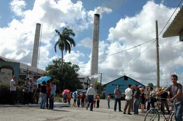 Ingenio en Tacajó, Holguín, Cuba.
