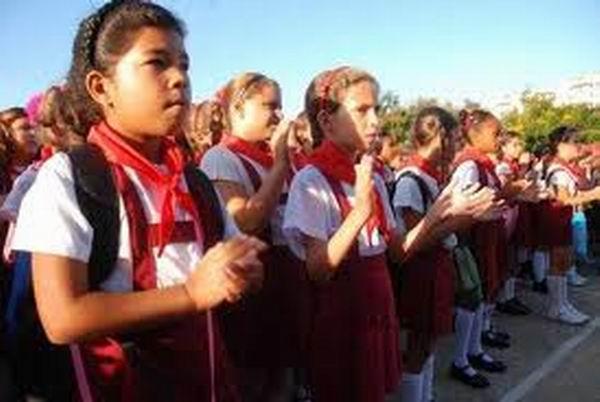 Inaugurado en Cuba el nuevo curso escolar.