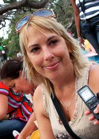 "Ivetti Rodríguez, madre de Rubén califica el Programa cubano Educa a tu hijo de ""excepcional"". Foto Abel Rojas"