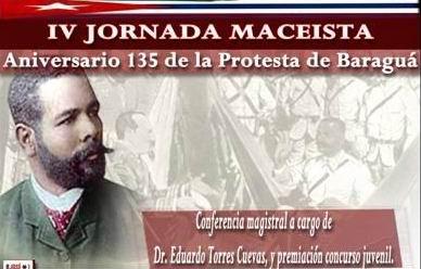 Jornada de homenaje a la vida y obra de Antonio Maceo