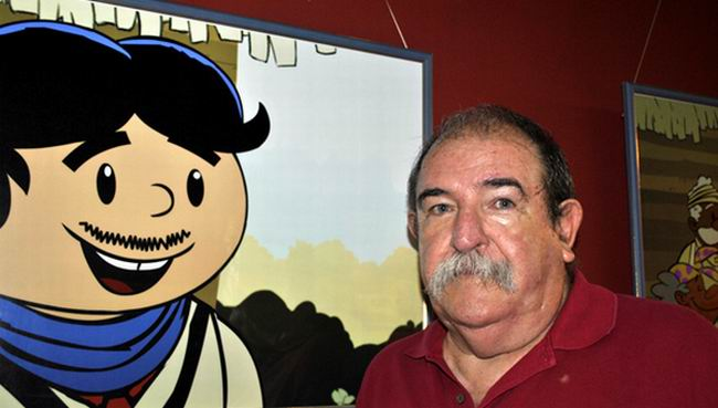 Dedicarán espacio El elogio oportuno al historietista Juan Padrón