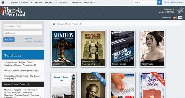 Conozca la librería virtual de la Empresa CITMATEL