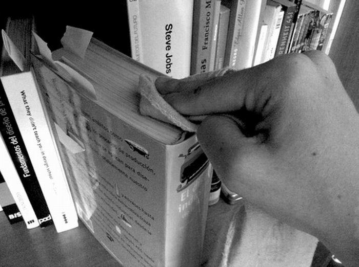 Libros y revistas bien cuidados