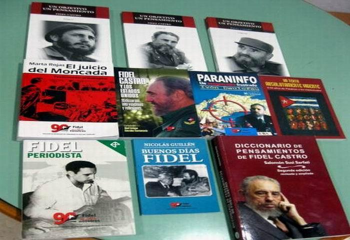 El legado intelectual de Fidel en la Feria del libro santiaguera