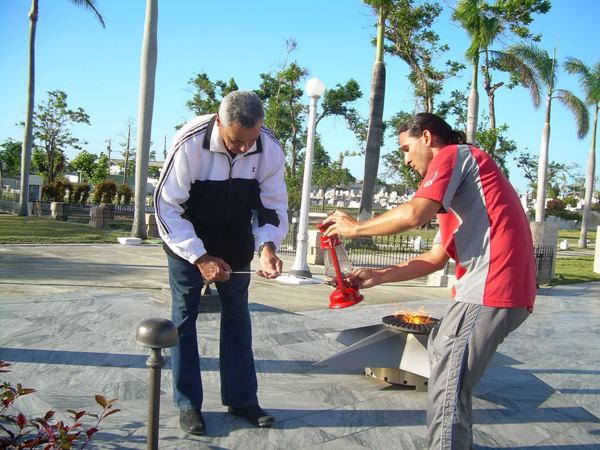 Llama Martiana recorre Cuba por aniversario 160 del natalicio del Apóstol