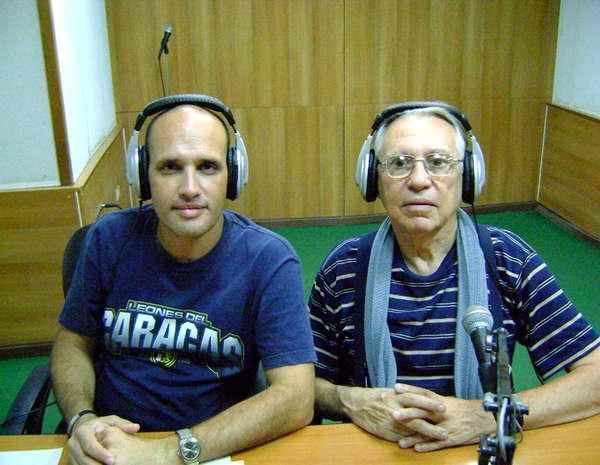 Locutores de Así, Pedro Martínez y Franco Carbón