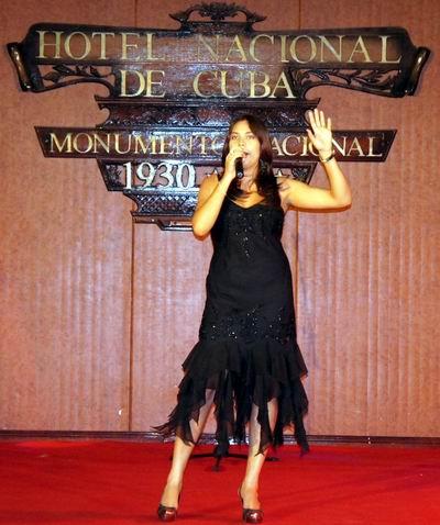 Cantante cubana premiada en festival