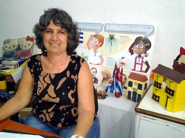 Licenciada María Francisca García Blanco. Foto: Isel Quintana