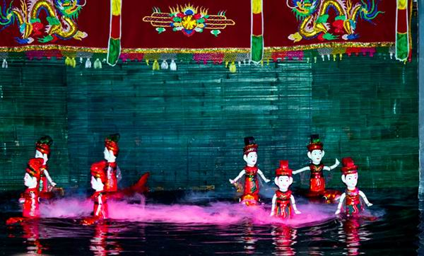 Cubans to Enjoy Vietnamese Water Puppet Theater