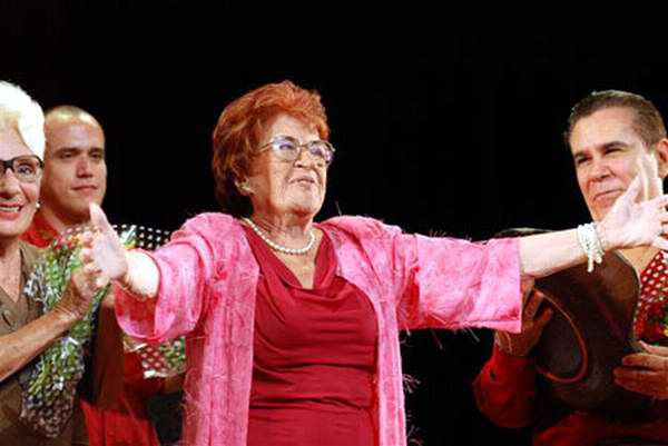 La insigne actriz Marta Jiménez Oropesa interpretó durante décadas al personaje de  Rita Pranganillo
