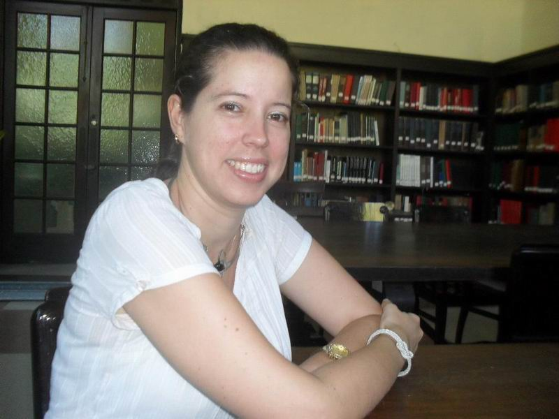 Máster Claudia Felipe Torres, directora de Patrimonio de la Universidad de La Habana. Foto: Teresa Valenzuela.