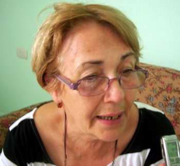 Directora Nacional de Artesanía del Fondo Cubano de Bienes Culturales, Mercy Correa