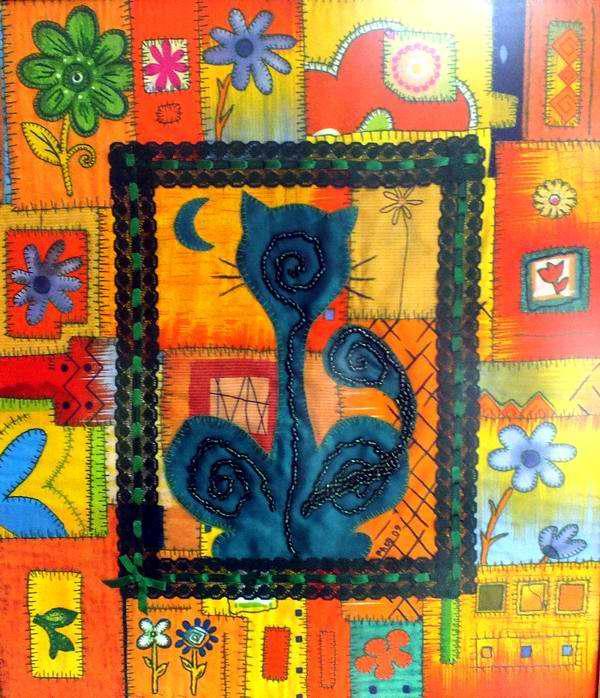 """""""Mi gato es verde"""", 2009. Artista Paco Borrás. Foto Abel Rojas"""