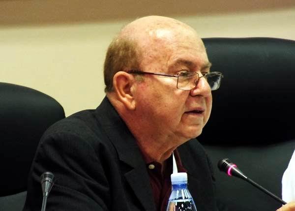 Miguel Barnet, presidente de la  UNEAC. Foto: Abel Rojas Barallobre.
