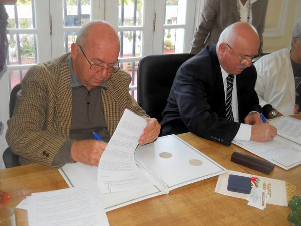 Firman convenio de cooperación la UNEAC y la organización de escritores de Belarús