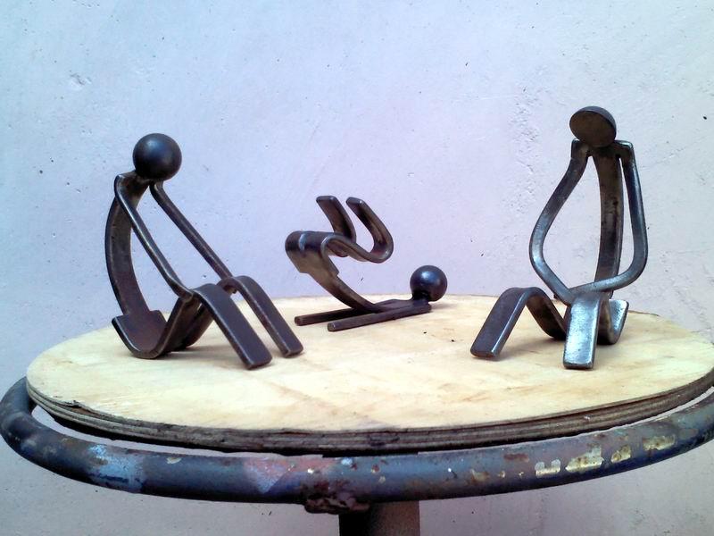 Obras en metal de Mijaíl Arteaga