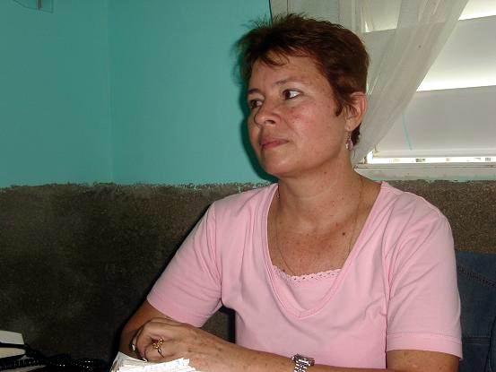 Milagros Rodríguez Peña, directora de Radio SG. Foto: Aroldo García